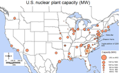Nuclear reactors in the US