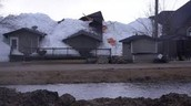 Damage caused by Ice Tsunamis