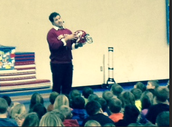 Coach Sloth Visits Earlham Elementary