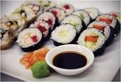 A Brennah, no le gusta sushi.