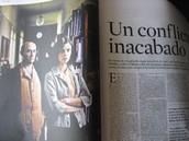 """""""Los girasoles ciegos"""" en textos periodísticos"""