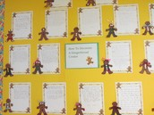 Our How To Holiday bulletin board