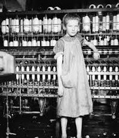 A famous picture from the Industrial Revolution
