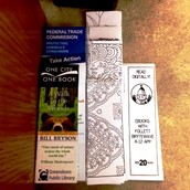 New bookmarks ... that you can color