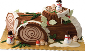 Story of the Yule Log and Eat a Yule Log!