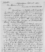 Sarah Hale's letter to Abraham Lincoln