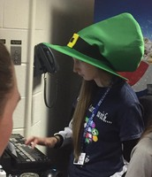 Brandi and hat day for ctc spirt week