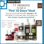 1st 10 Days of January