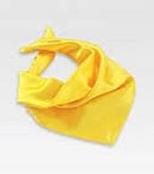 la bufanda esta viva amarillo.