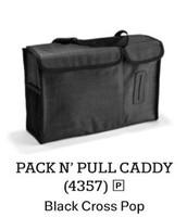 Pack N' Pull Caddy in Black Cross Pop