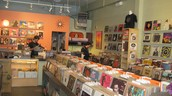 Here, There & Everywhere: A Secondhand Music Store