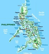 The Map Of Philippines