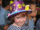 The Easter hat parade