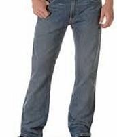 Los jeans azuls