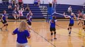 Volleyball dominates!