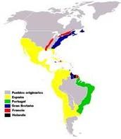 Las tierras conquistadas por colón.