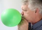 Poppng a balloon