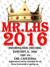 Mr. LHS Show Information Session