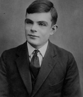 alan turing when he was young