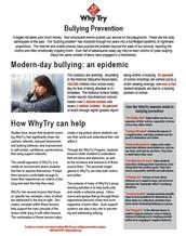 WhyTry - Bullying Prevention
