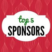 Top 5 Sponsors