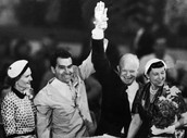 Eisenhower and Nixon Take Office