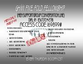GHMI FIve Fellowship Men Support Group
