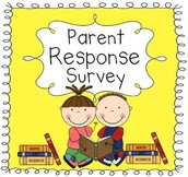 Parent Survey - Please Respond