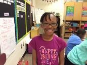 Congratulations Lydia Class Secretary!