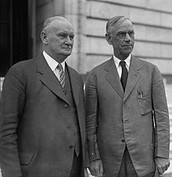 Reed Smoot and Willis C. Hawley