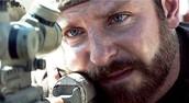 Bradley Cooper playing as Chris Kyle