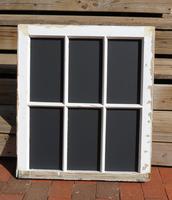 Six-Pane Chalkboard Frame