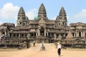One of the entry ways into Angkor Wat