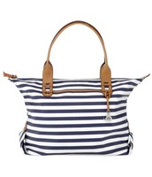 Classic Navy Strip How Does She Do It, Retail $89, Sale $45