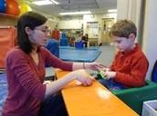 teaching autistic people