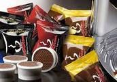 Caffè Covim per Nespresso, lavazza a modo mio, espresso point, cialda carta.