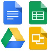 Google'i rakendused (Drive, Docs, Sheets & Slides)