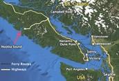(Nootka Island and Nootka Sound, BC)