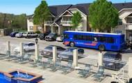 Pool Area & KU Bus Route
