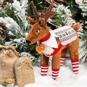a elf on the shelf reindeer.