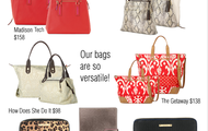 Bags, clutches, and more!