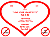 No Tobacco - Love Your Heart