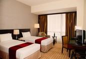 chambre à deux lit simple