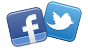 Find us on Facebook.  Follow us on Twitter