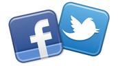 Find us on Facebook.  Follow us on Twitter