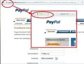 False PayPal Email