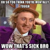 """Dude that's so sick!"""