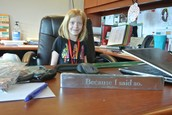 Clear Creek's student Principal for the day