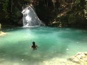 Visit Blue Hole, Jamaica