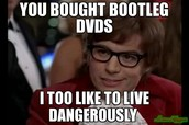 you will be this guy if you buy a dvd!